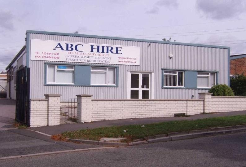 Front of ABC Catering & Party Equipment Hire Premises