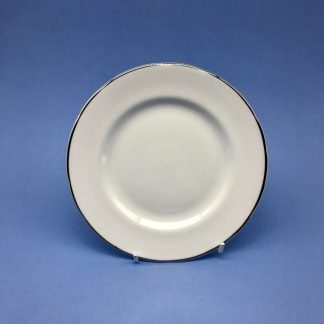 Silver Edge China Side Plate