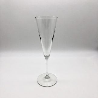 Glass Trumpet Style Champagne Flute